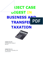 Tax Case Digest