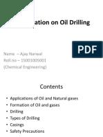 Presentation on Oil Drilling