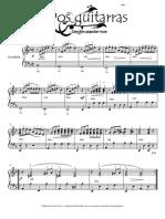 Dos guitarras. Canción popular rusa..pdf