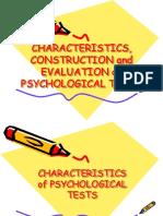 Psychometric Report