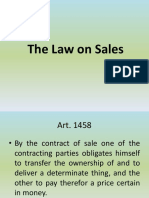 Lecture on the Law on Sales 1