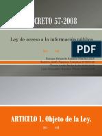 Grupo 10 Decreto 57-2008