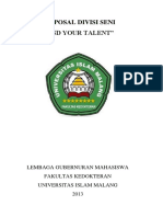 Proposal Divisi Seni - Find Your Talent.docx