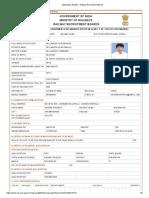 Application Details - Railway Recruitment Board Karna