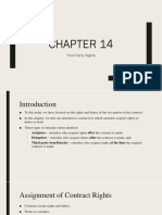 Chapter 14 - Third Party Rights