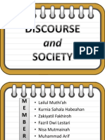 DISCOURSE AND SOCIETY.pptx