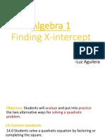 algebra l