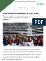 Dentro de La Maquinaria Ideológica de López Obrador _ Internacional _ EL PAÍS