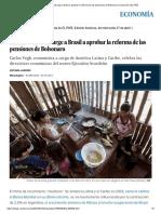 El Banco Mundial Urge a Brasil a Aprobar La Reforma de Las Pensiones de Bolsonaro _ Economía _ EL PAÍS
