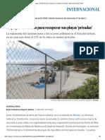 La Pugna de México Para Recuperar Sus Playas 'Privadas' _ Internacional _ EL PAÍS