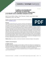 Empleo de la abeja melífera como bioindicador de contaminación ambieltal con herbicidas en áreas cultivadas con soja - Baldi Coronel.pdf