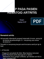 Askep Pada Pasien Rematoid Artritis