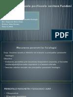 Masurarea parametrilor fiziologici