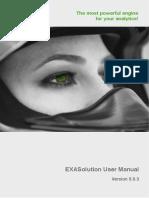 EXASolution User Manual 5.0.3 En