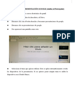 Cómo crear una presentación google (similar a powerpoint)