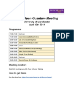 sixth open quantum meeting - google docs