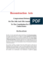 Reconstruction Acts