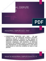 Industrial dispute