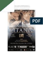 TITANIC LIVE_csMilano Arcimboldi_Maggio 2019