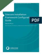 Sitecore Installation Framework Configuration Guide