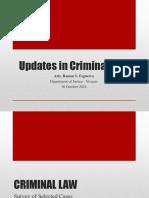 Crim Law Lecture Oct 2018 - Modified