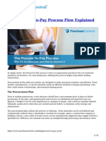 The Procure to Pay Process Flow Explained