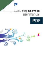user manual gt p 7510