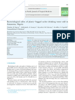 Comparison of Drinking Water Treatment Process Streams for Optimal Bacteriological Water Quality