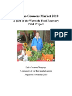 Report on Kitsilano Growers Market Final