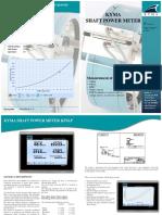 KPM - Kyma Shaft Power Meter - Brochure