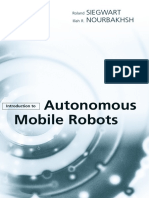Introduction to Autonomous Mobile Robots - Siegwart Nourbakhsh