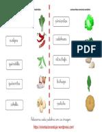 Relacionar Con La Imagen Hortaliza Verduras y Tuberculos 2