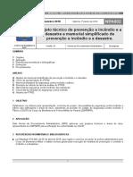 Npa 002 - Projeto Tecnico e Memorial Simplificado de Prevencao a Incendio e a Desastre - Jan 2019-Min