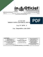 Ley Nº 1870-I - Ley Impositiva 2019 - ANEXOS – Alícuotas.pdf