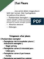 3.3.5.2 Pleura Effusion