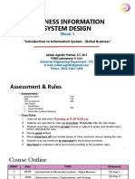 #1 Introduction to Information System