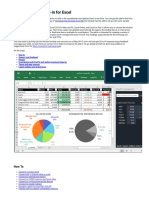 Stock Connector Add-In for Excel