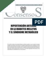 Consenso Hta en Diabetes