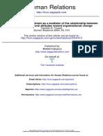 The Measurement Model of Performance Determinants