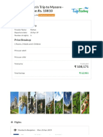 Option 5 - Mohan's Trip to Mysore - Flights Per Person Rs. 10810 - TripFactory