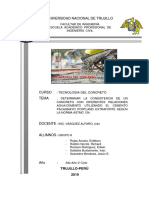 Informe Del Concreto Laboratorio