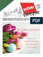 Höriwoche KW16