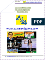 A2Z November 2017 Current Affairs PDF
