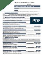 Check List - Projeto Estrutural No Eberick