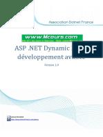 ASP NET Dynamic Data Developpement Avance