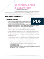 WFTDA Officiating Standard Practices Spanish