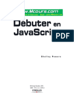 Chapitre 12 Debuter en Javascripts