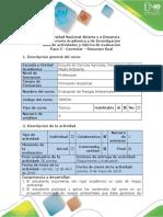 Guia de Actividades y Rúbrica de Evaluación - Paso 5 - Controlar Informe Ejecutivo Final