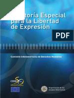 RElatoria Especial Para La Libertad de Expression