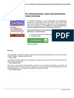 Elements of Civil Engineering and Engineering Me Doc